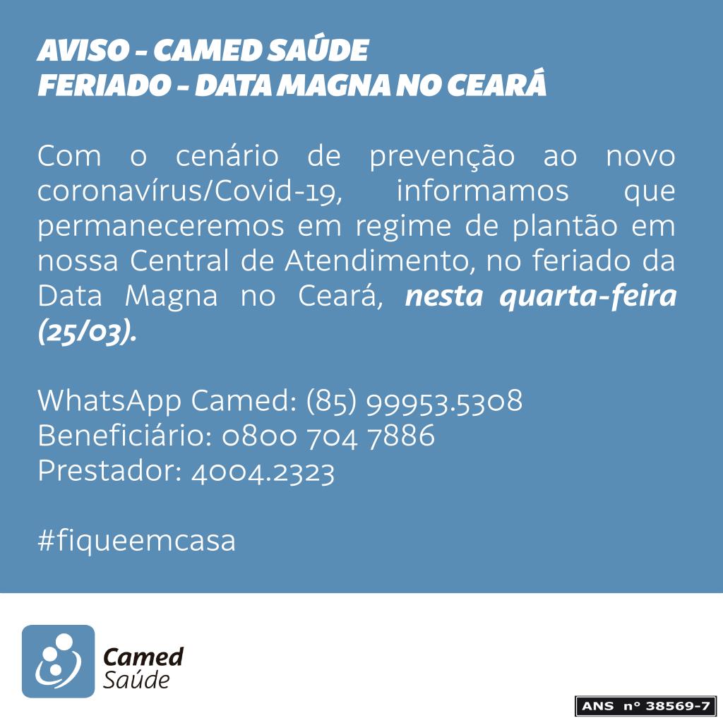 FERIADO CARTA MAGNA - CAMED-01